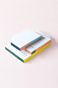 Large Colorblock Pad