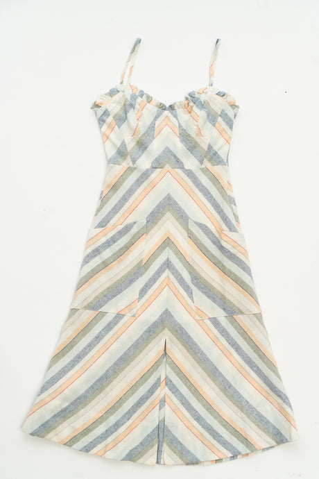 Anouk Striped Dress