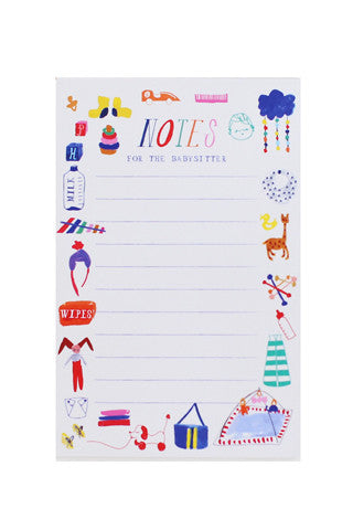 Be Home By Midnight Notepad