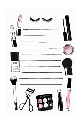 Beauty Notepad