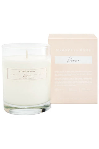 Magnolia Home Boxed Glass Candle