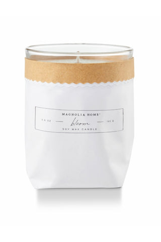 Magnolia Home Kraft Textured Candle