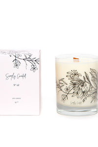 Simply Curated Botanical Candle | No. 1