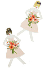 Load image into Gallery viewer, Bridesmaid Paper Doll Card