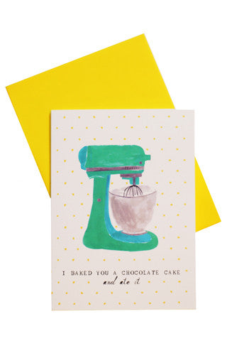 Kitchenaid Birthday Card