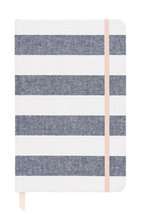Chambray Stripe Journal