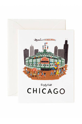 Chicago Folded Note Card Set