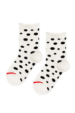 Load image into Gallery viewer, Mini Dalmatian Crew Socks