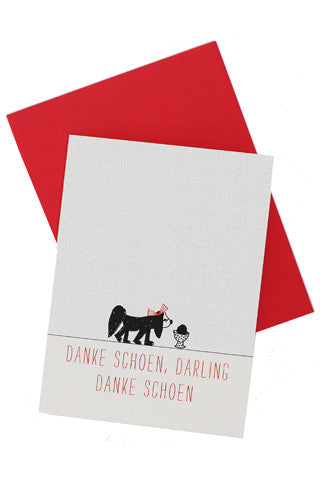 Danke Schoen, Darling Card