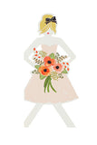 Bridesmaid Paper Doll Card