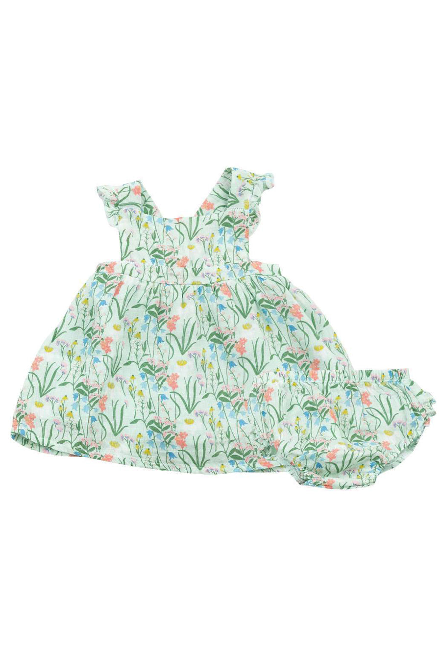 Summer Mornings Sundress + Diaper Cover