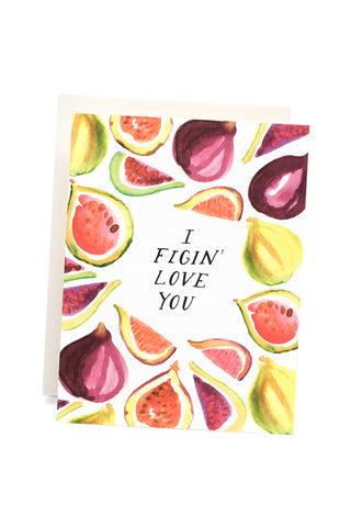 Figin' Love You Card