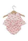 Flamingo Top & Bloomers Set