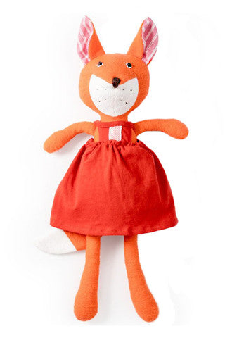 Flora the Fox in Strawberry Red Jumper
