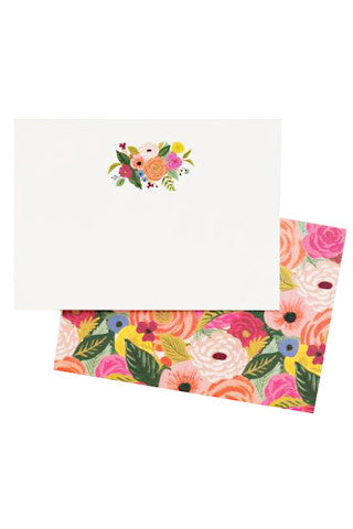 Juliet Rose Social Stationery Set