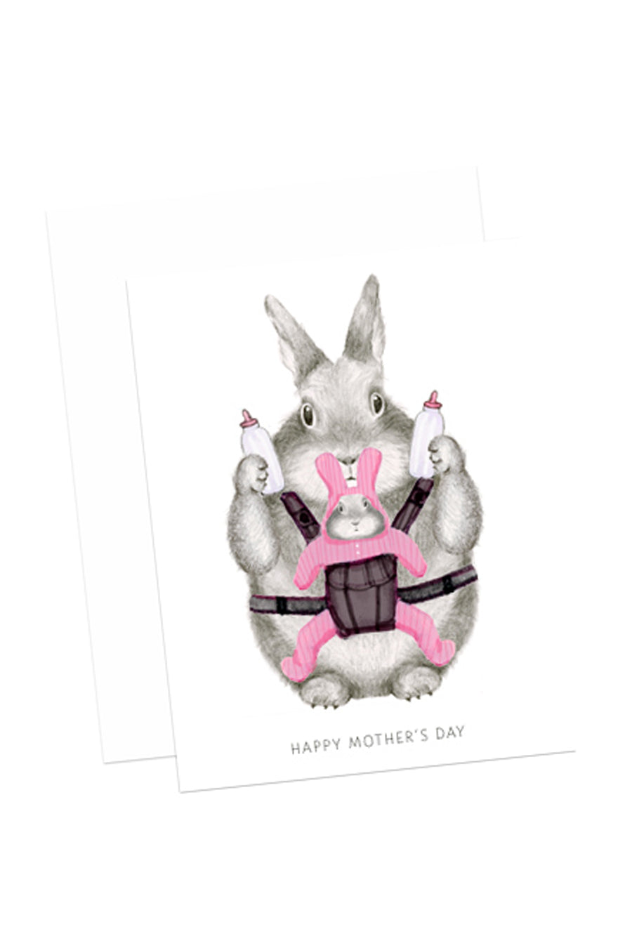 Mom Bunny Card