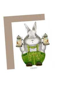 Cheers Bunny Card