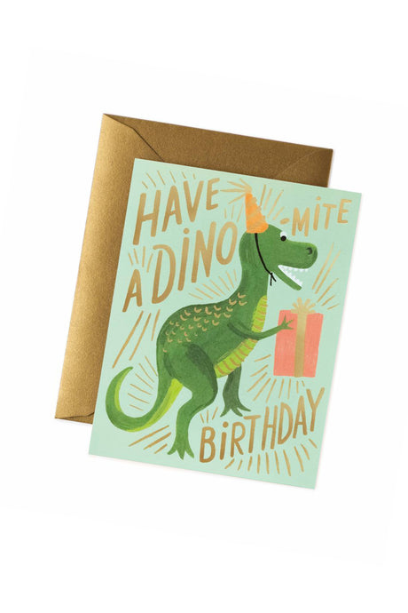 Dino-mite Birthday Card