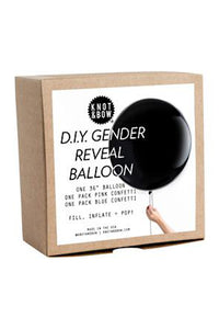 D.I.Y. Gender Reveal Balloon