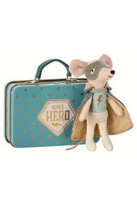 Guardian Hero Mouse in Suitcase