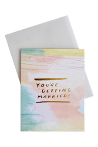 Getting Married Card
