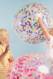 Neon Giant Confetti Balloon Kit