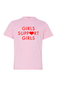 Girls Support Girls Youth Tee