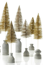 Load image into Gallery viewer, Gold Glitter Brush Tree