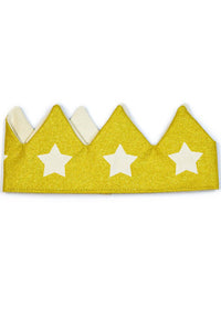 Gold Canvas Crown