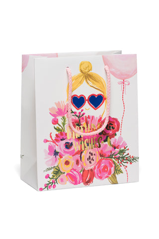 Heart Shaped Gift Bag | Small