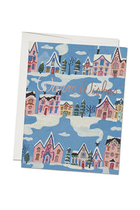 Little Pink Houses Holiday Card
