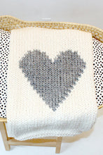 Load image into Gallery viewer, Handmade Heart Blanket