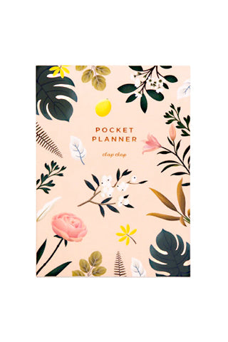Botanical Pocket Planner