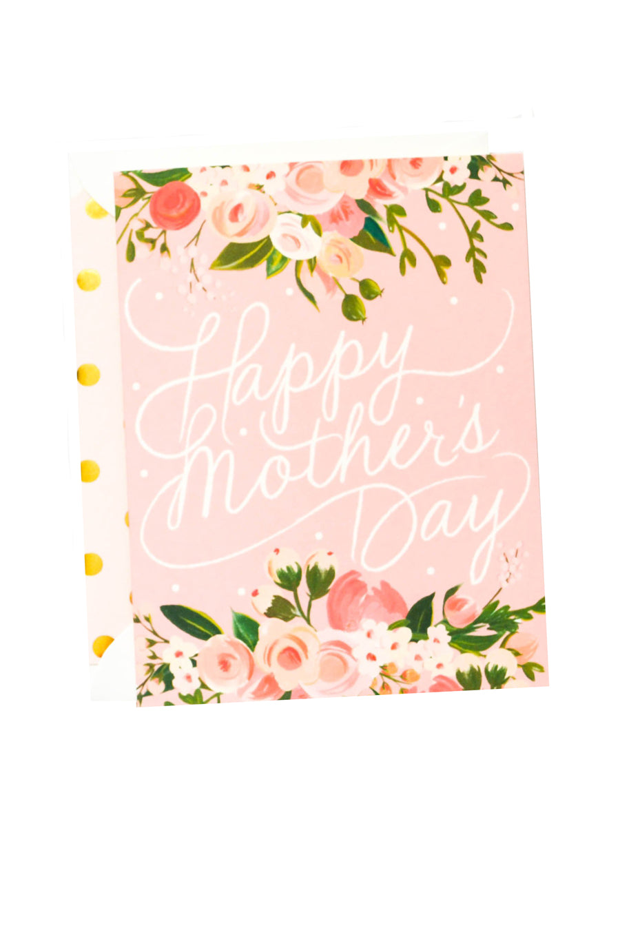 Mother's Day Script Floral Card