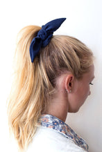 Load image into Gallery viewer, Crepe Chiffon Knot Scrunchie | Petite