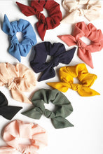 Load image into Gallery viewer, Crepe Chiffon Knot Scrunchie | Large