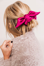 Load image into Gallery viewer, Silk Knot Bow Scrunchie