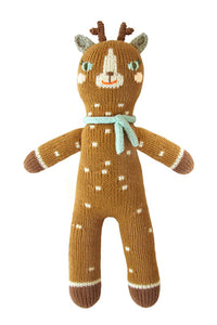 Jasper the Deer Knit Doll