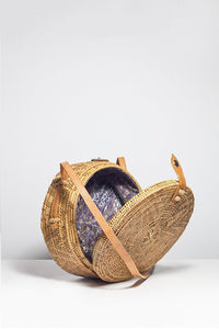 Round Basket Bag