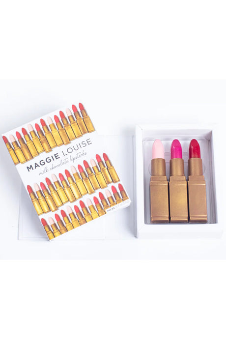 Lipstick Trio Chocolate Set