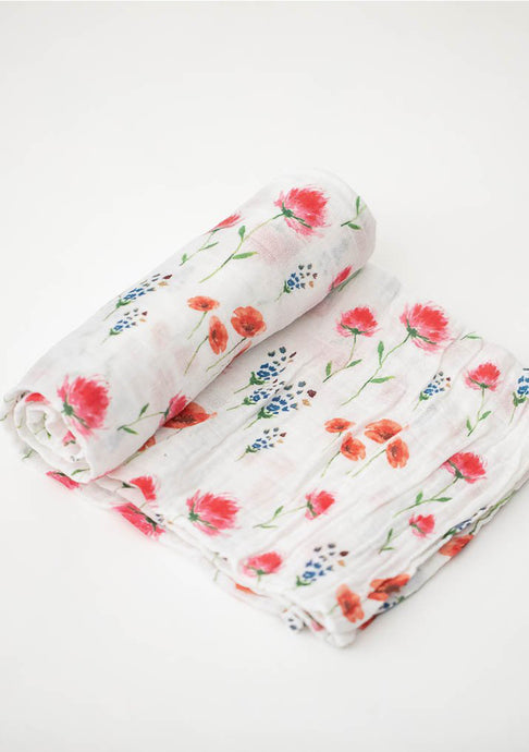 Wild Mums Cotton Muslin Swaddle
