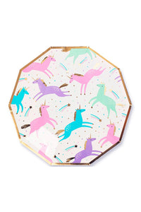 Magical Unicorn Small Plates Set/8