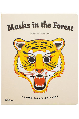 Masks in the Forest: A Story Told with Masks