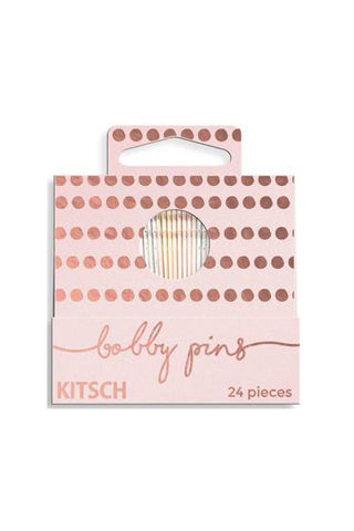 Pink Dot Matchbox Bobby Pins