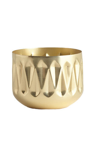 Medium Radiant Metal Candle