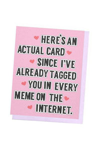 Meme Love Card