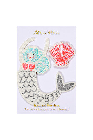 Mermaid Patches
