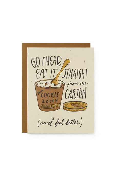 Ice Cream Feel Better Card