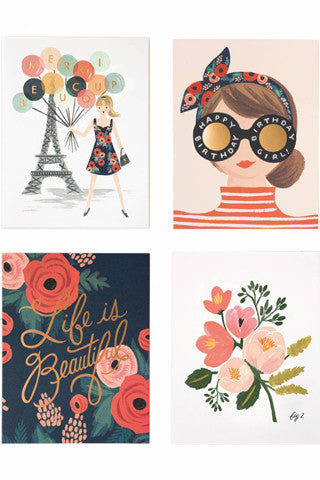 Parisian Foil Assorted Note Set
