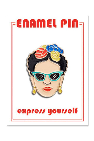 Frida Sunglasses Enamel Pin